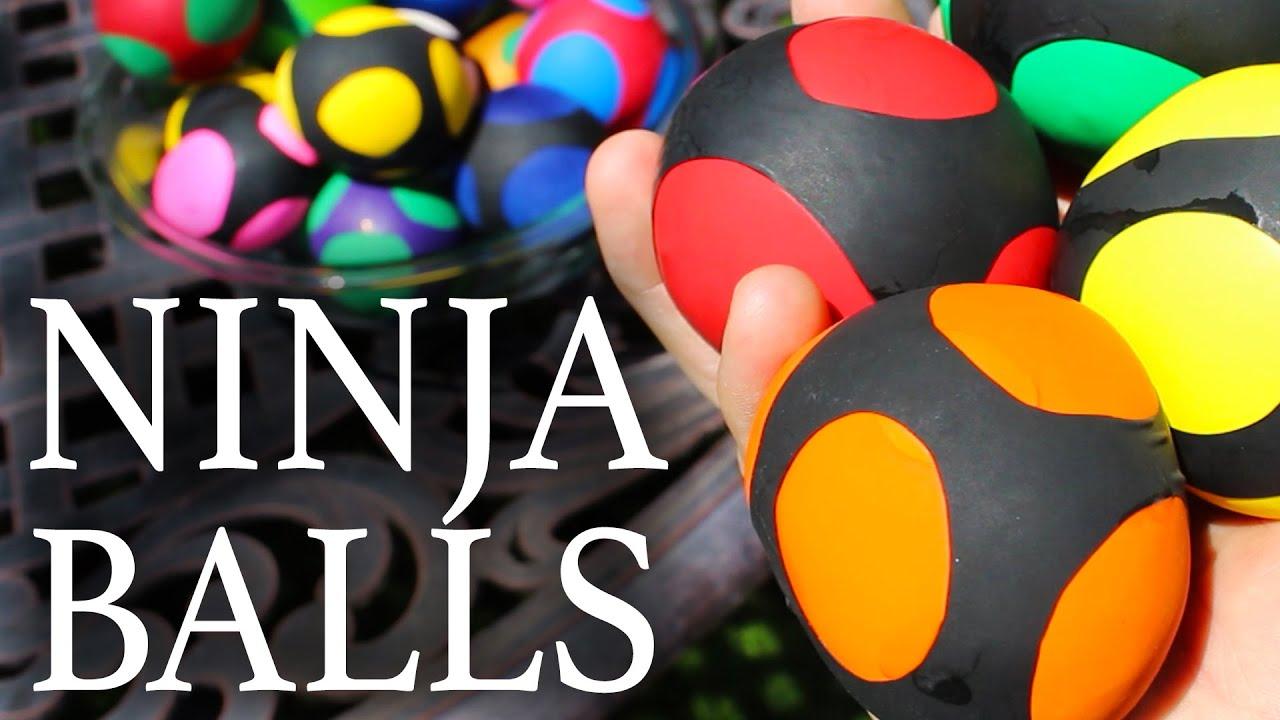 How To Make Ninja Stress Balls Youtube