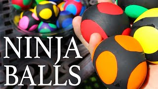How to Make Ninja Stress Balls!(Call them Yoshi eggs, Stress-balls, or Ninja Turtle squishies. Here's how to turn party balloons and baking flour, into a custom set of superhero power balls., 2014-08-16T15:59:59.000Z)