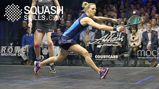 Squash tips: Movement timing to the T