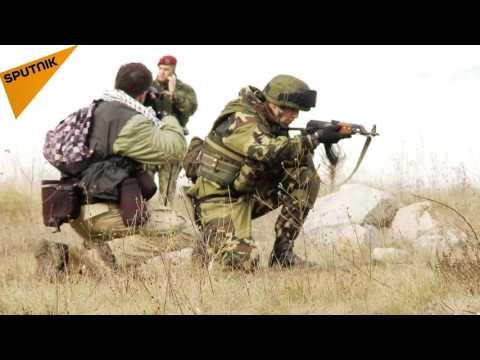 Slavic Brotherhood-2016 Anti-Terror  Drills in Serbia