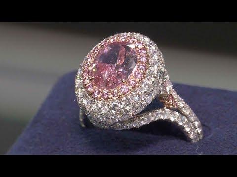 Diamonds shine at 2018 Tokyo International Jewelry Fair