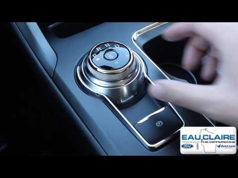How to Use the Rotary Gear Shift Dial on a 2017 Ford Fusion