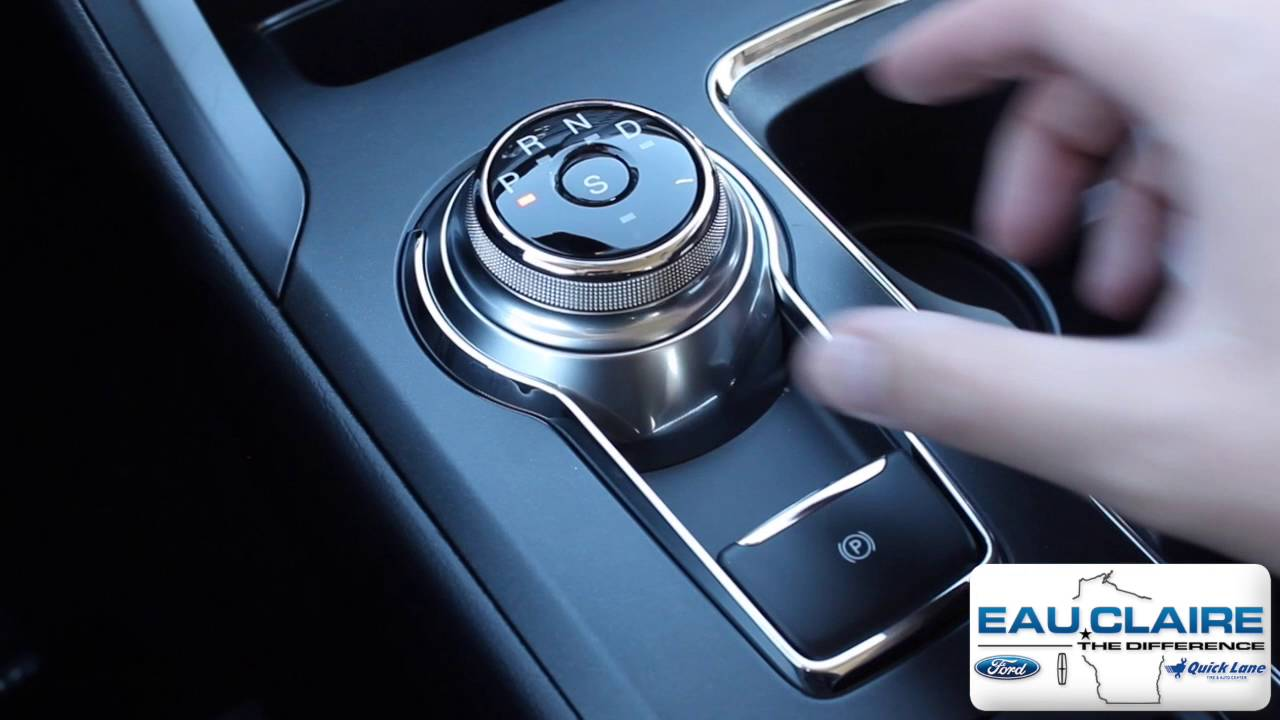 How To Use The Rotary Gear Shift Dial On A 2017 Ford