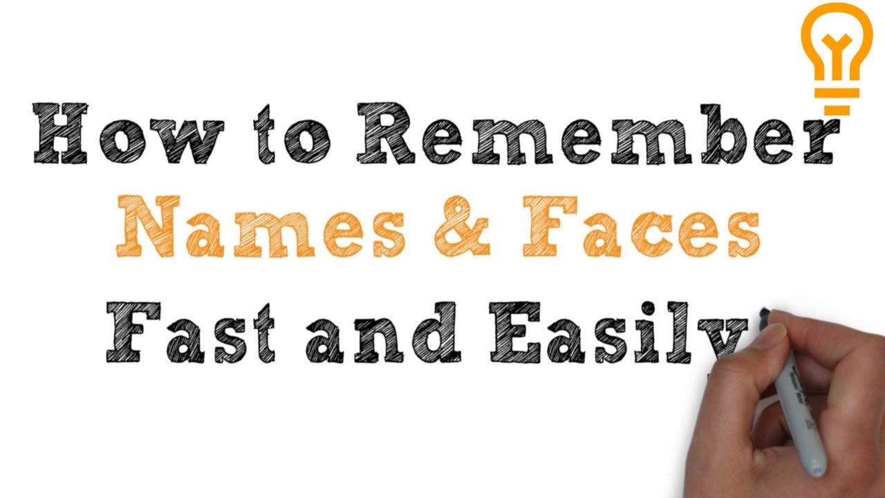 HOW TO REMEMBER NAMES AND FACES PDF