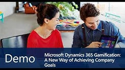 Microsoft Dynamics 365 Gamification -  A new way of achieving company goals