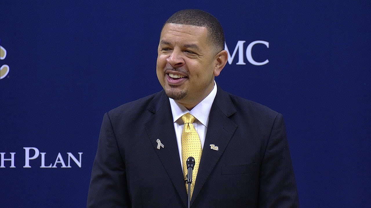 Pitt Men's Basketball | Head Coach Jeff Capel Introductory ...
