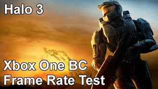 Halo 3 Xbox One vs Xbox 360 Backwards Compatibility Frame Rate Test