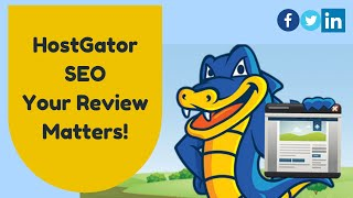 HostGator SEO - Your Review Matters!