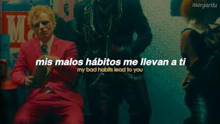 (video oficial) Bad Habits - Ed Sheeran [Español + Lyrics]