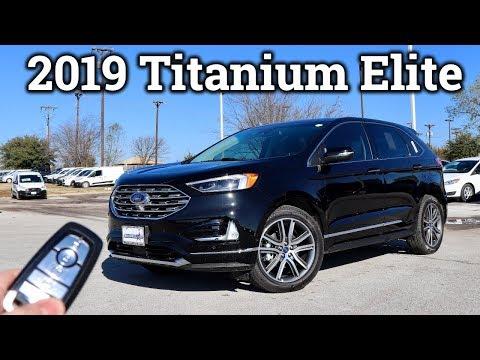 2019 Ford Edge Titanium Elite | Loaded 2-Row!