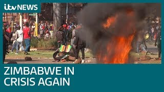 Zimbabwe experiences post-election slump as finances and food remain in crisis | ITV News