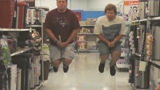Broom Flying Stop Motion
