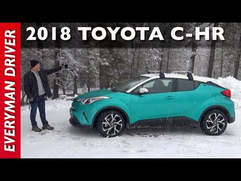 Here's the Snowy 2018 Toyota C-HR on Everyman Driver