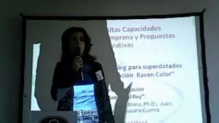 Presentación Jornada Mensa   Asoc  superdotados RAM 2012