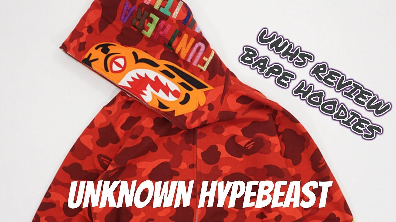 18329da57c57 UNHS (UnionHouse) Bape Camo Tiger Camo Hoodie Review - YouTube