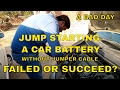 JUMP STARTING A CAR BATTERY || FAILED OR SUCCEED || DO IT YOURSELF || DESI DRIVING SCHOOL