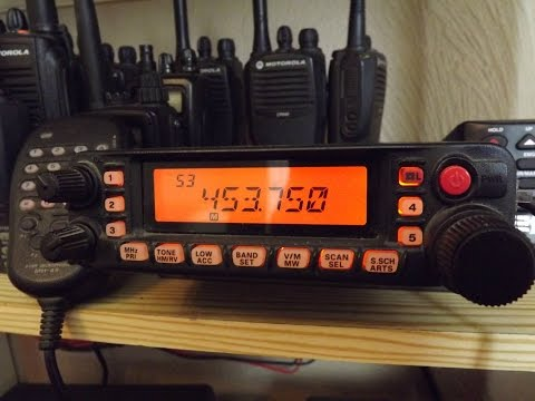 Scanning Various UK PMR Users with The YAESU FT-7900R