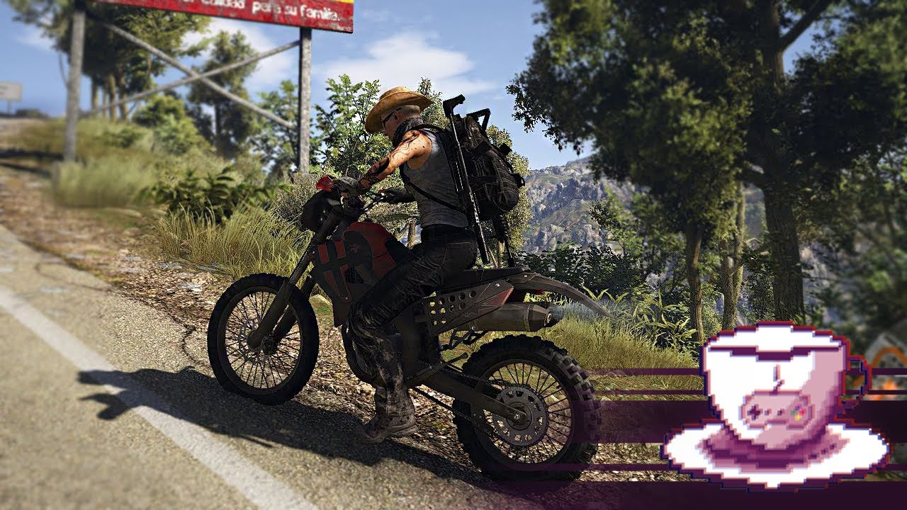 Ghost Recon Wildlands Motorcycle Shenanigans Youtube