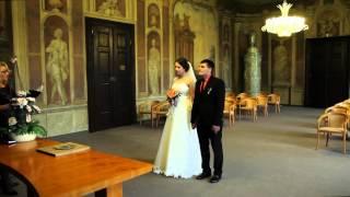 Русская свадьба в Праге в замке