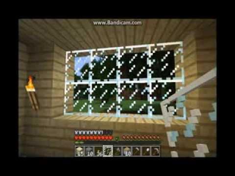 Minecraft- Как найти/сделать камень,стекло ? ((By Vlad))
