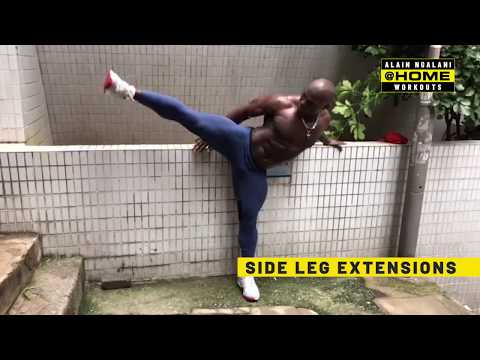 Alain Ngalani's Insane Flexibility | ONE@Home Workouts