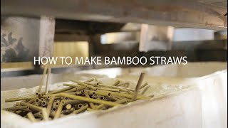 QA Bamboo Wholesale How We Make Bamboo Straws