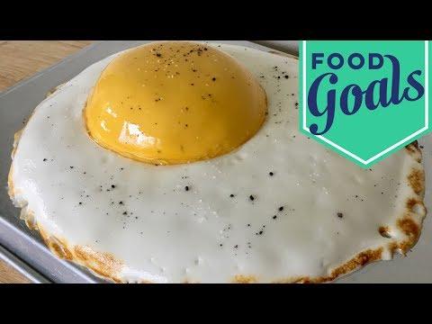 Amazing Fried Egg Fake-Out Cake | Food Network