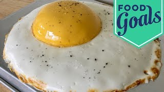 Amazing Fried Egg Fake-Out Cake | Food Network