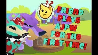 Friend Plays Play Wild For the First Time!   Animal Jam Play Wild