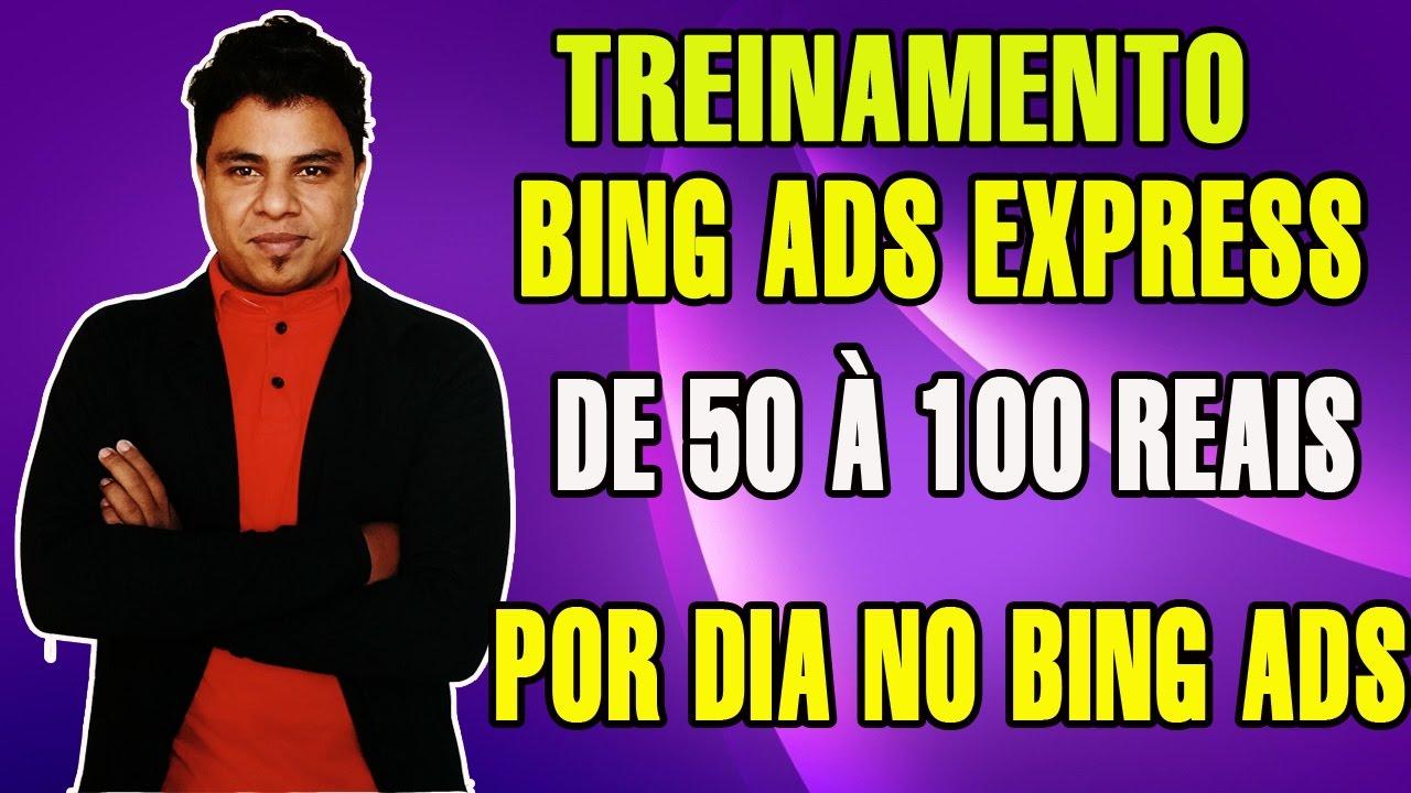 d463f6780 Treinamento Bing Ads Express - Como Ganhar de 50 à 100 Reais Por dia no  Bing Ads  PROVA  - YouTube