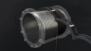 видео Тельфер двухскоростной г/п 2,0 т Н=6 м
