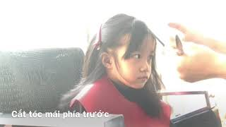 Cắt tóc cho bé gái 3-5 tuổi nhu the nao
