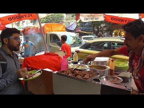 Mix ( Egg & Chicken ) Noodles 50 rs Per Plate | Street Food Kolkata ( Besides Poddar Cort )