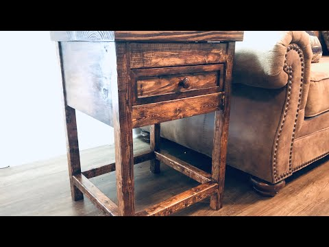 Build 2 End Tables For $60! (Easy!)