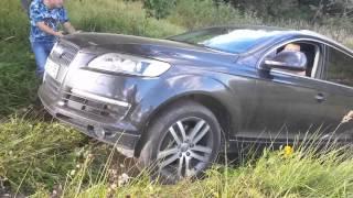 Тест драйв автомобиля Audi Q7 Quattro