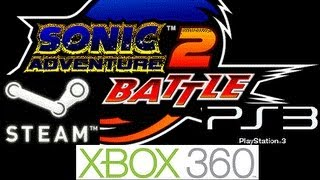 Sonic Adventure 2 battle is Coming to Xbox 360,PS3 & Steam!! (Sega license)