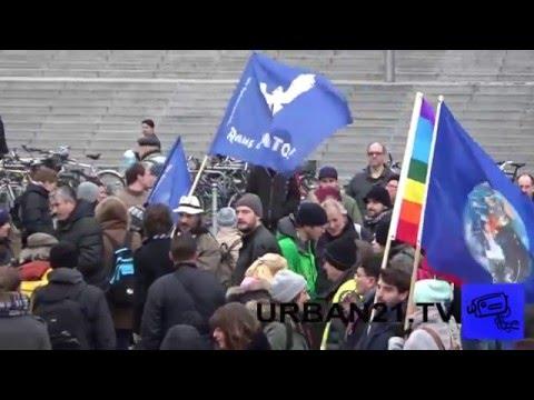 EnDgAmE: Keine Deutsche Beteiligung am Krieg in Syrien! Demo 12.12.2015 (Teil 1/3 - Washingtonplatz)