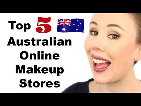 Top 5 Australian Online Makeup Stores (FREE SHIPPING!!) | Australian Beauty
