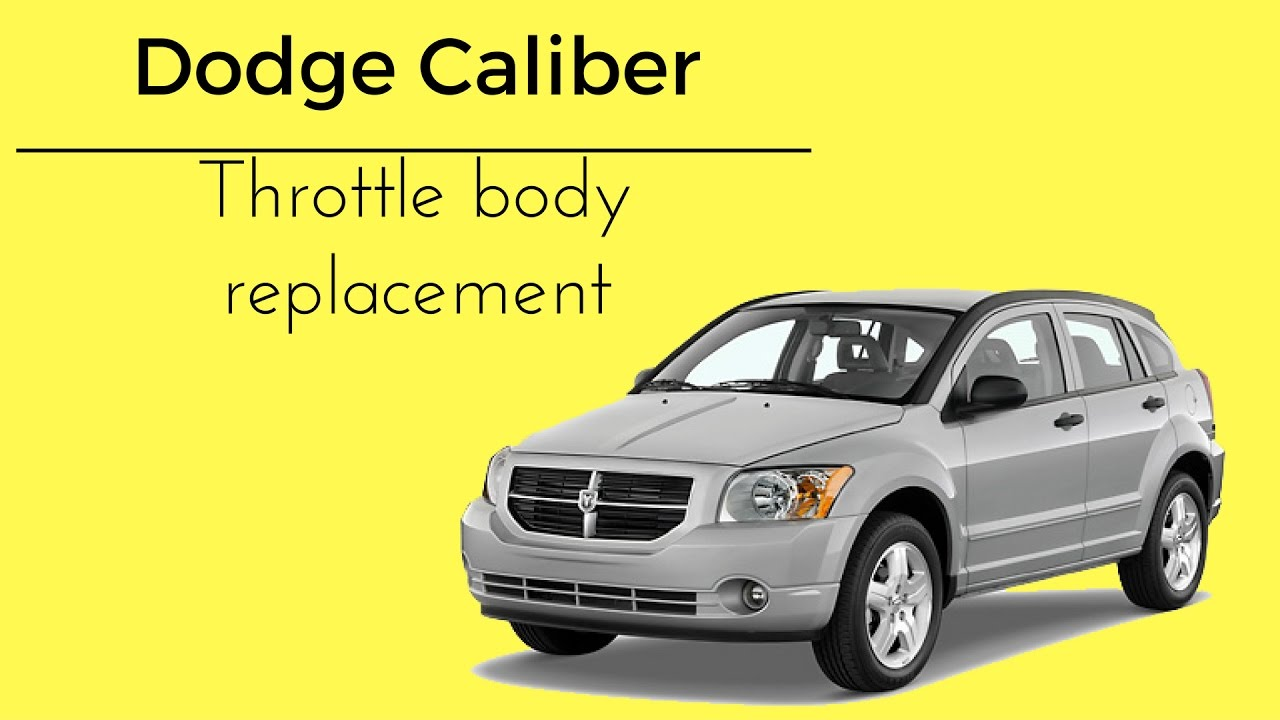 hight resolution of 2007 2012 dodge caliber red lightning bolt check engine light throttle body how to replace