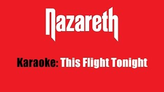 Karaoke: Nazareth / This Flight Tonight