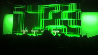 KRAFTWERK _  Nummern/Computerwelt _ 2015 live in Berlin