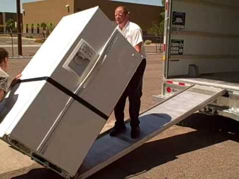 Using A U Haul Appliance Dolly Youtube