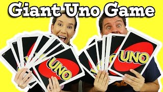 Giant Uno Game - It's So Crazy!!!