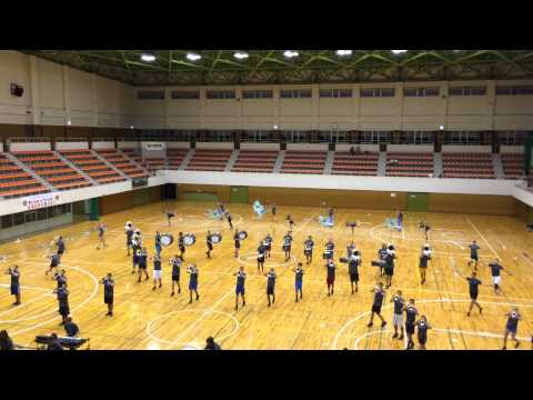 Oct.11th 2014.  Carolina Crown's rehearsal at Hamagawa Gym.  CROWN 003 thumbnail