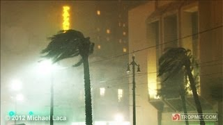 Hurricane ISAAC - New Orleans, Louisiana - August 28-29, 2012