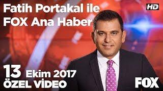 Asgari ücretli vergi kaybını geri alacak! 13 Ekim 2017 Fatih Portakal ile FOX Ana Haber