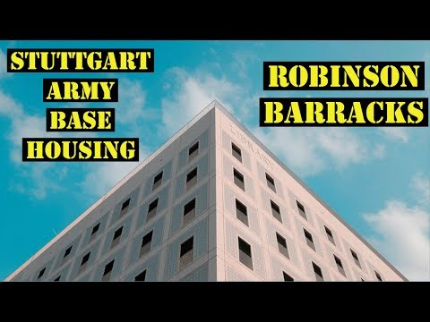 Stuttgart Army Base Housing 2018