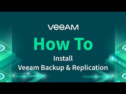Veeam Backup & Replication - Installation