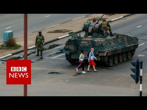 Zimbabwe crisis: Mugabe 'under house arrest' after army takeover - BBC News