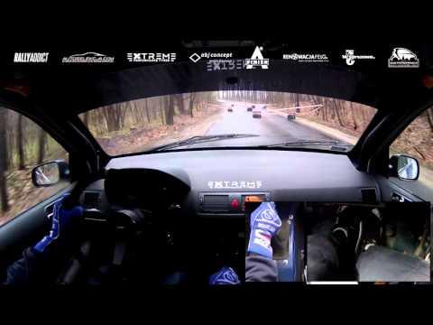 1. Runda G4 Garage Tarmac Masters 2016 - P. Krysztowiak / K. Machnikowski - onboard OS 2
